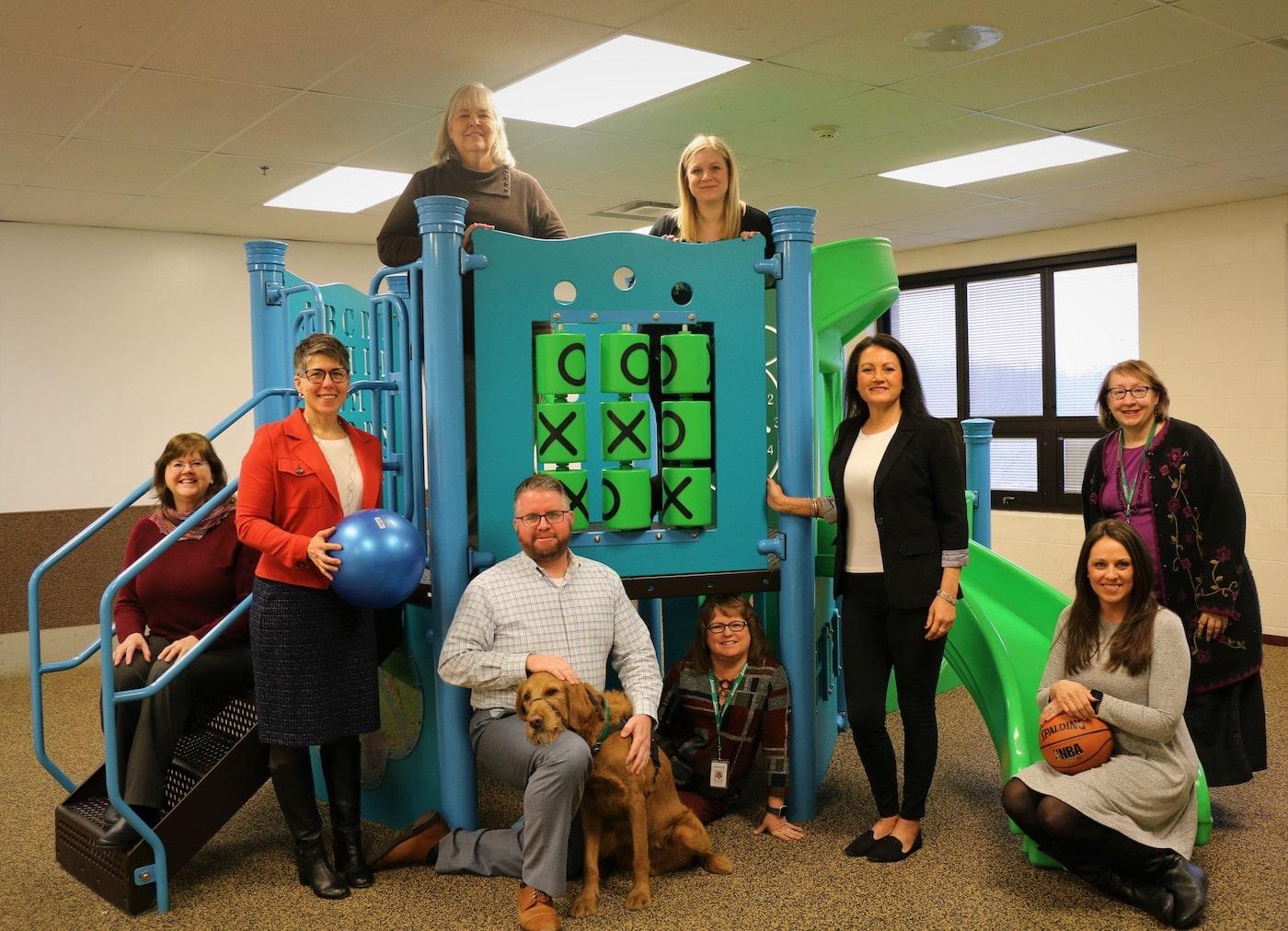 The Redwood leadership team together