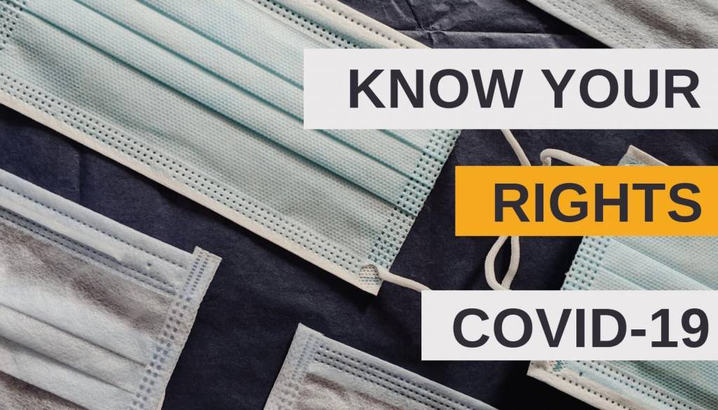 Know Your COVID-19 Rights